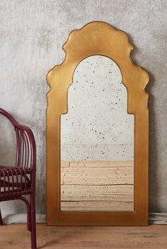 Anthropologie Beaux Arts Mirror