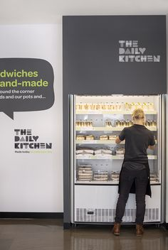 Davidson developed the visual language system, brand tone-of-voice, internal graphics, signage and ticketing for The Daily Kitchen.