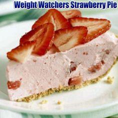 Amazing Weight Watchers Recipes: Weight Watchers Strawberry Pie
