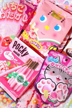 """I've consumed all this stuff and I still don't have diabetes. But my hips have a lot of fat on them and my bf just called them """"ass wings"""". Japanese Kit Kat, Japanese Candy, Angel Aesthetic, Cute Candy, Cute Packaging, My Money, Love Photography, My Childhood, Asian Recipes"""