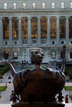 Columbia University - Alma Mater  &  Butler Library