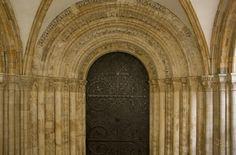 Main portal of the Temple Church