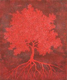 Red tree, Gian Luigi Delpin