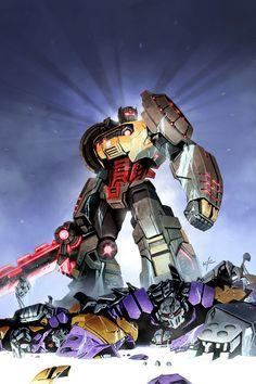 Grimlock....THE Autobot Badass.