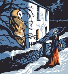 'Dorothy Wordsworth's Christmas Birthday' a poem by Carol Ann Duffy, illustrated by Tom Duxbury