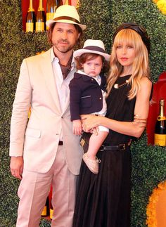 Rachel Zoe hahah I love her baby's outfit. Going to be the most fashion forward little babe out there