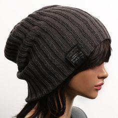 Beanie Chess Silhouette Knitted Hat Winter Skullcap Men Women