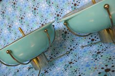 Just love these!!!!   -  Pyrex UFO Twins by mixed_chica, via Flickr