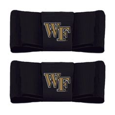 (http://www.lillybee.com/wake-forest-university-shoe-clips/) @wakeforeststore