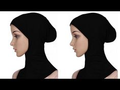 Hijab Caps, Pattern Drafting, Hijab Fashion, Ninja, Turban, Stitching, Diy, Youtube, Cowl