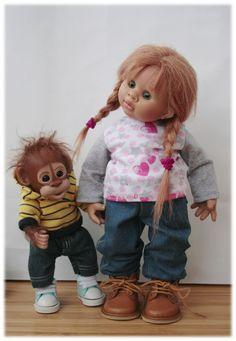 I mamy nową dziewczynę / lalki Kolekcja Rosemarie Anna Muller lalki, Rozmari Myuller / Beybiki. Lalki zdjęcia. ubrania dla lalek