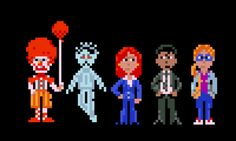 Thimbleweed Park pixel art (by LowLevel)