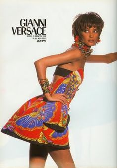 blame it on the boogie: Vintage Versace advertisments
