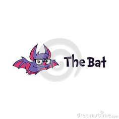 An Unique Happy Bat Character Mascot Logo great for any purpose!
