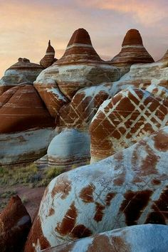 Blue hills, Arizona USA