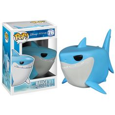 Disney Bruce Funko POP Vinyl Figure (Finding Nemo) Brand NEW!e Paint quality) Format: Figure Manufacturer: Funko Ages: Suggested age 8 and Up! Disney Pop, Disney Pixar, Disney Films, Disney Cars, Pop Figurine, Figurines Funko Pop, Funko Figures, Disney Figurines, Pop Vinyl Figures