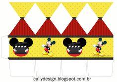 Um Blog com Kits Personalizados gratuitos de vários temas e muitas novidades para sua festa. Fiesta Mickey Mouse, Mickey Party, Minnie Mouse, Disney String Art, Circo Do Mickey, Mickey Decorations, Classic Mickey Mouse, Party In A Box, Mouse Parties