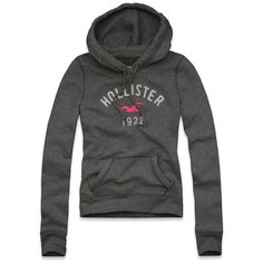 Hollister Co Crescent Bay Hoodie ($40) ❤ liked on Polyvore