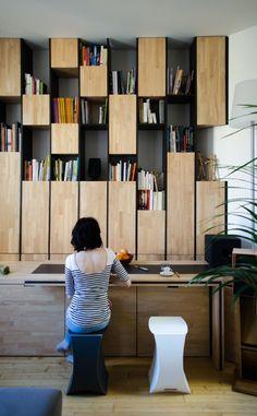 kazu721010: Appartement M / Mickaël Martins Afonso et l'Atelier Miel - idea source
