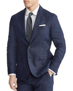 Homme Velours Bleu Blazer doux lisse Vintage Rétro Coupe Ajustée Smart Veste