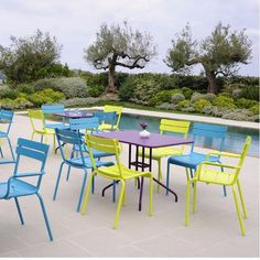 mobilier de jardin, mobilier luxembourg, mobilier fermob, chaise ...