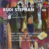 Rudi Stephan: Complete Songs [CD]