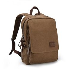 Ibagbar Men's Brown Cotton Canvas Single Shoulder Outdoor School Laptop Backpack Brown Ibagbar http://www.amazon.com/dp/B00PAD484Q/ref=cm_sw_r_pi_dp_EA.Vvb171GP9W