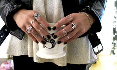 Currently Loving: Silver Rings
