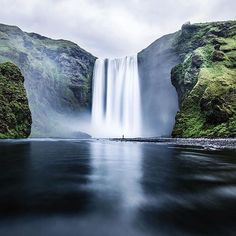 Tag a friend who you think would enjoy a stop at Skógafoss.  Photo by @tannerwendell !  #MyStopover by icelandair