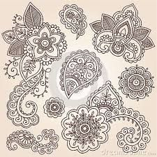 What I think I really want is a paisley tattoo down my rib cage. I love the flowers in this design.