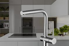 Water-saving tap from Caressi