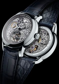 On the occasion of its 260th anniversary celebrations, the Manufacture Vacheron Constantin is making a remarkable return to its roots by enriching its Métiers d'Art collection with two timepieces distinguished by movements that are entirely hand-engraved. The Vacerhon Constantin Métiers d'Art Mécaniques Gravées 14-day Tourbillon, ref 6000A/000P-B026