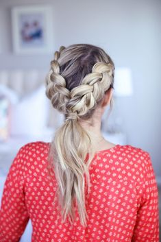 Double Dutch Ponytail | Cute Girls Hairstyles