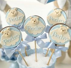 Chocolate, Baby Shower Cupcakes, Place Cards, Place Card Holders, Desserts, Food, Lollipop Candy, Sweets, Tailgate Desserts