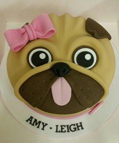 Pug Birthday Cake                                                                                                                                                                                 More