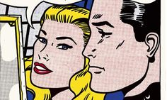 A detail from Masterpiece, 1962. Photograph: © Estate of Roy Lichtenstein/DACS 2012. Click to enlarge