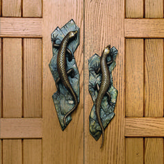Lizard Entry Way Pulls U2014 Martin Pierce Door Handles, Door Pulls, Knobs And  Handles