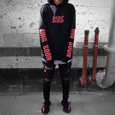 Swag Style, Style Casual, Dope Fashion, High Fashion, Fashion Outfits, Style Streetwear, Streetwear Fashion, Style Hipster, Yeezy Outfit