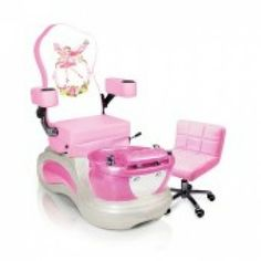 03efa4dca PINK PIXIE - KIDS PEDICURE CHAIR Special Price: $1,345.00 Christmas  Hairstyles, Salons, Chair