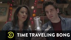 Ilana Glazer & Paul W. Downs of Broad City Travel Through Time & Space Using a Magical Bong