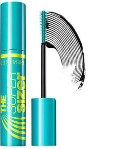 The CoverGirl Super Sizer Mascara gives you 400% more volume for fuller lashes. Opthalmologically tested, suitable for those who wear contacts..