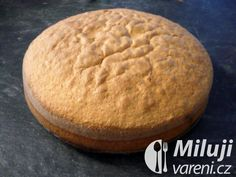 Základní těsto na dortový korpus Hamburger, Bread, Food, Brot, Essen, Baking, Burgers, Meals, Breads