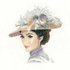 Rebecca - John Clayton Miniature Elegance cross stitch