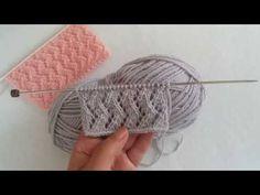 Ajur Crochet For Beginners Patterns D - Diy Crafts Baby Knitting Patterns, Knitting Blogs, Knitting Stitches, Knitting Designs, Crochet Designs, Stitch Patterns, Crochet Patterns, Boho Crochet, Crochet Poncho