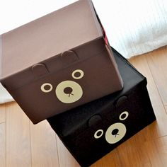 Korea cute storage box with lid