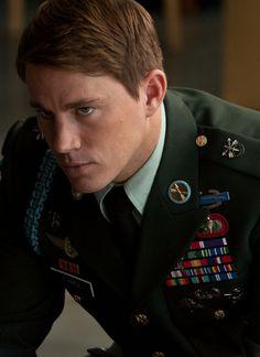 Channing Tatum in Dear John, love a man in uniform!