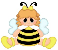 Cartoon Bee | Freebie of the week The freebies are available for ONE WEEK only ...