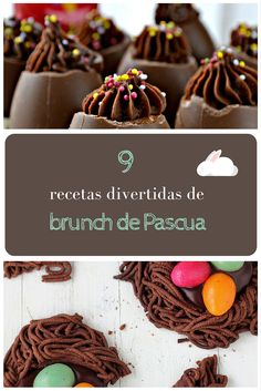 Recopilatorio de recetas que aportarán un toque divertido a tu brunch de Pascua - #brunch #Pascua #recetas #divertidas - http://www.coffeeandbrunchbcn.es/9-recetas-para-tu-brunch-de-pascua/