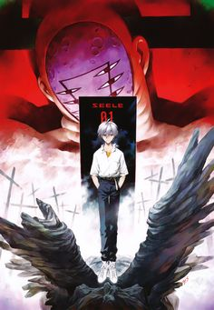 neon genesis evangelion neon genesis evangelion (manga) nagisa kaworu lilith (evangelion) seele sadamoto yoshiyuki high resolution very high resolution official art floating red eyes silver hair statue potential duplicate Neon Genesis Evangelion, Evangelion Kaworu, Hideaki Anno, Otaku, Manga Covers, Anime Comics, Marvel Comics, Mobile Wallpaper, Manga Anime
