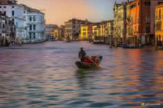 Photograph Sunset on the Grand Canal by Vittorio Delli Ponti on 500px